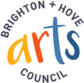 This is the logo of Brighton and Hove Arts Council