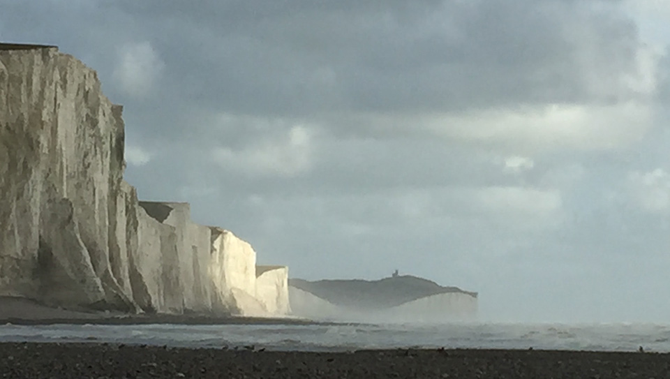 This is a picture of Seaford Head